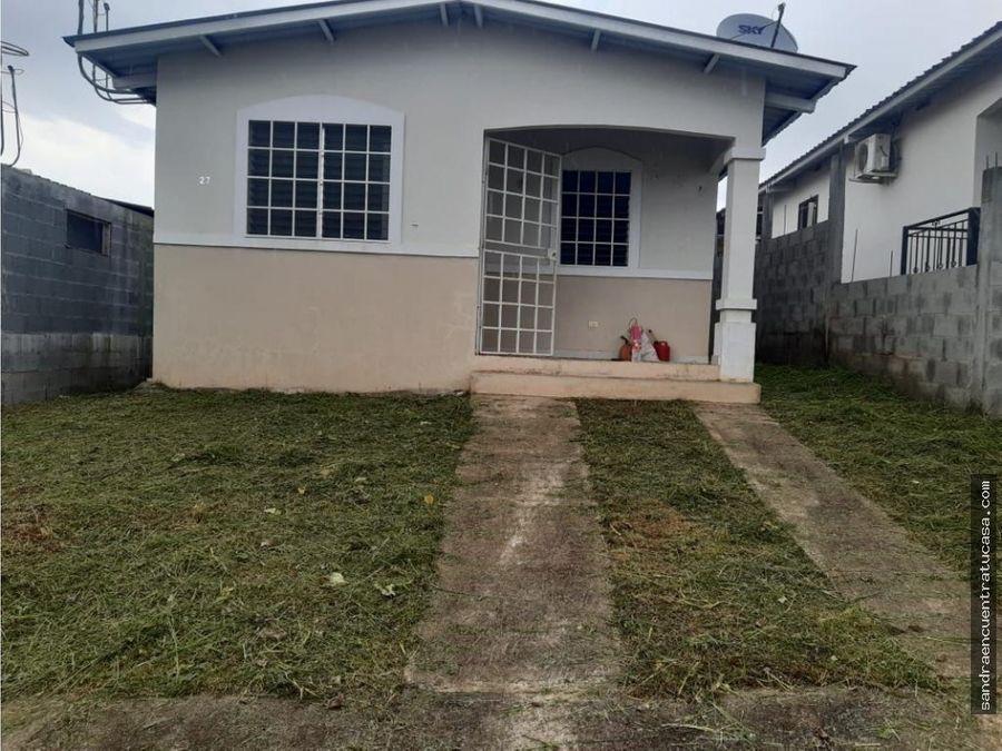 casa en venta en la chorrera