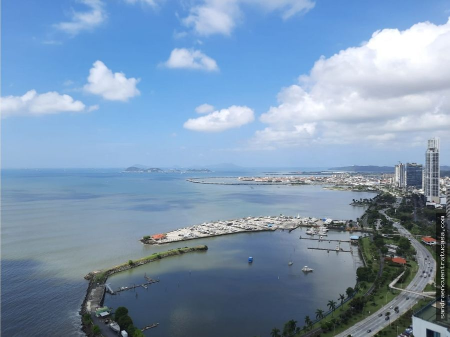 alquilo vista del mar avenida balboa amoblado de lujo 1 recamara