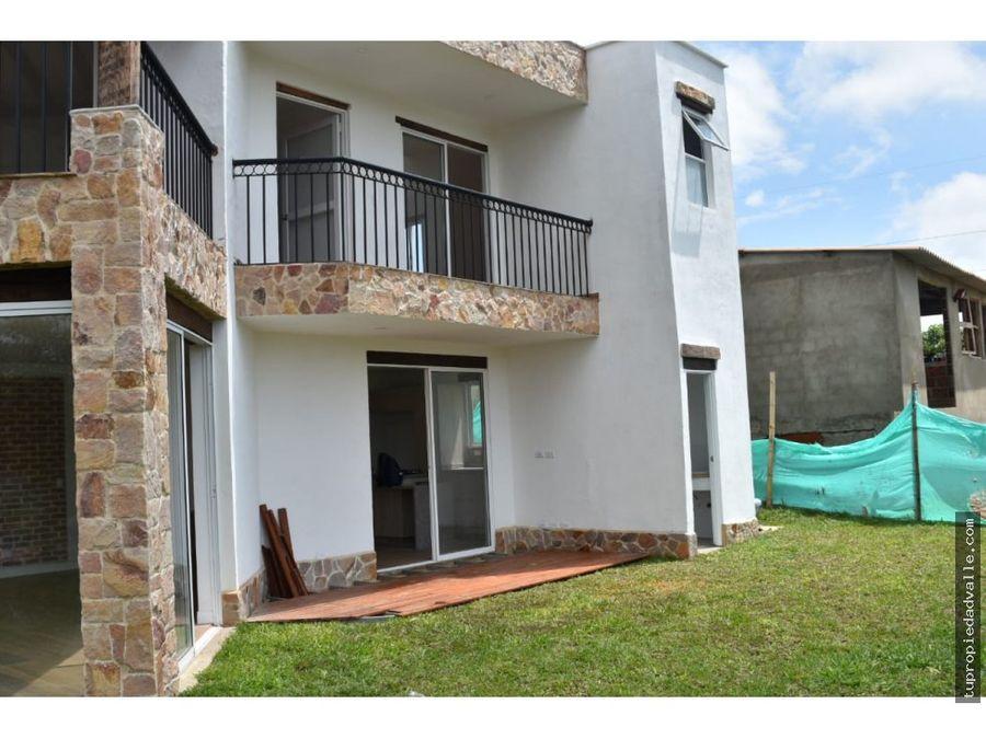 venta casa en sun villaje jamundi