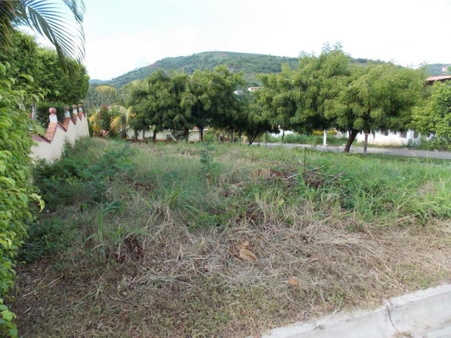 se vende lindo terreno en lomas de san blas