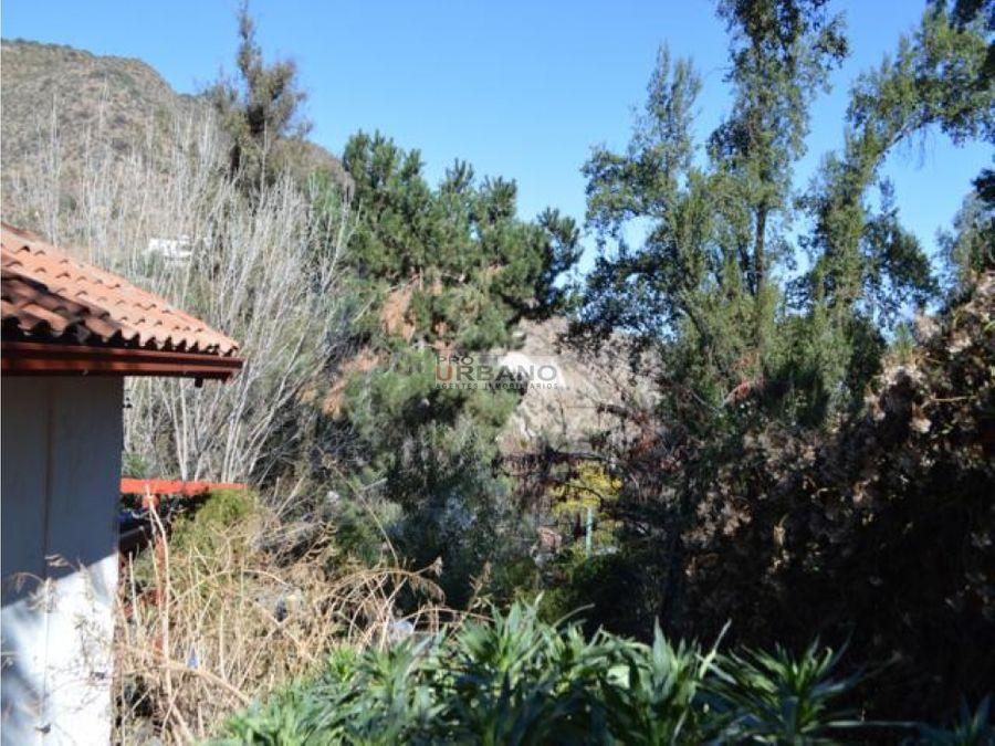 amplia casa con gran terreno en el arrayan