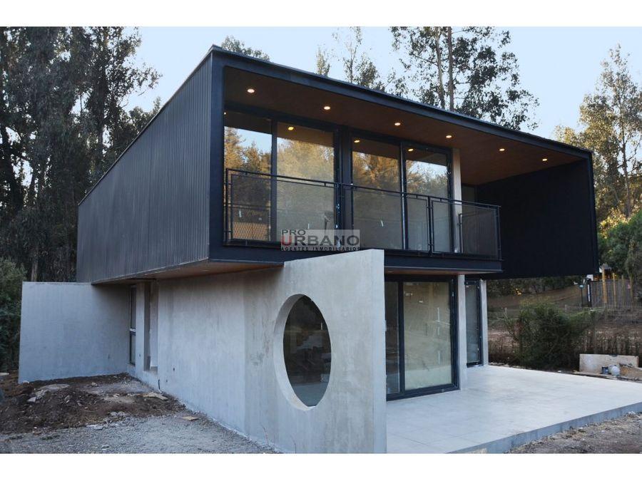 moderna casa nueva en los pinos