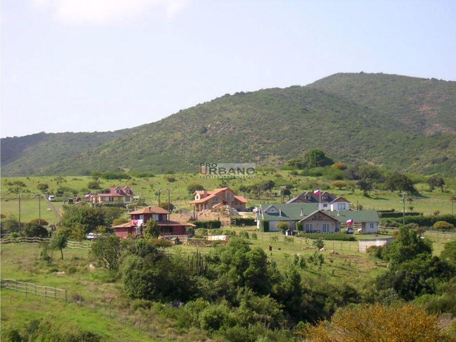 parcela en condominio valle alegre v region