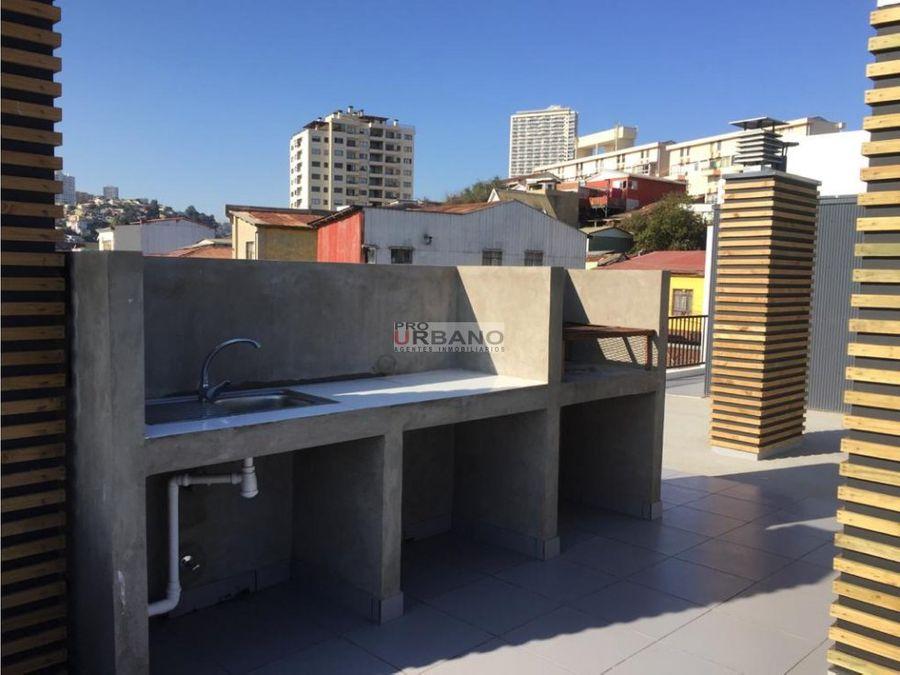 moderno estudio excelente ubicacion en valparaiso