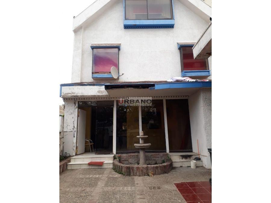 casa comercial en venta en excelente ubicacion vina del mar