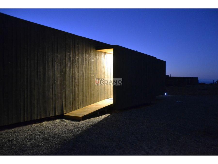 moderna cabana modular en huentelauquen