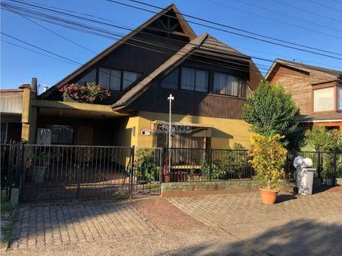 amplia casa en excelente sector de temuco