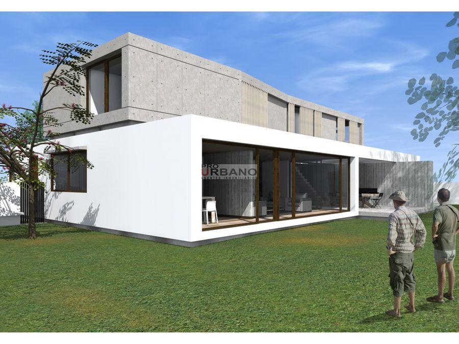 casa moderna y mediterranea