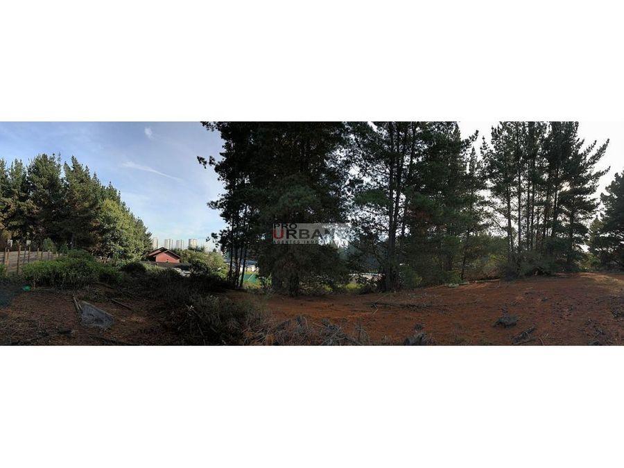terreno en los pinos a pasos camino pavimentado