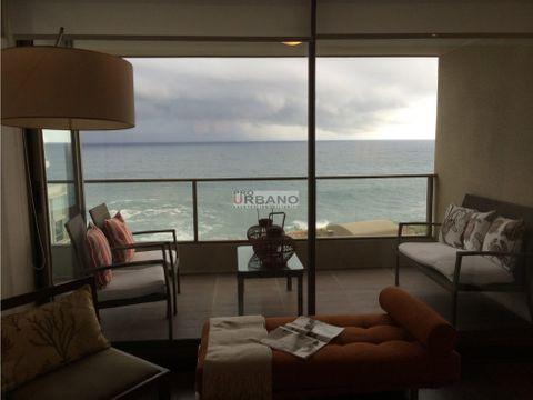 comodo departamento con gran vista al mar