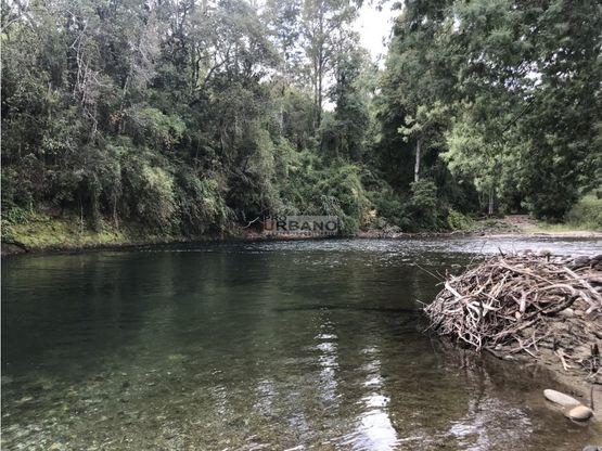 parcelas orilla rio curaco agua piedra