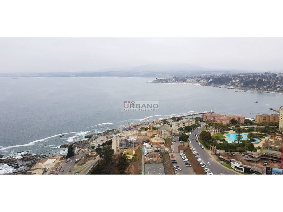 amplio departamento con espectacular vista al mar
