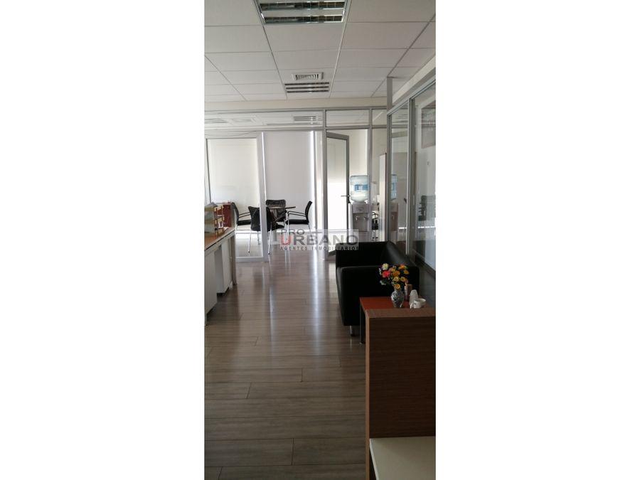 moderna oficina en excelente ubicacion en providencia