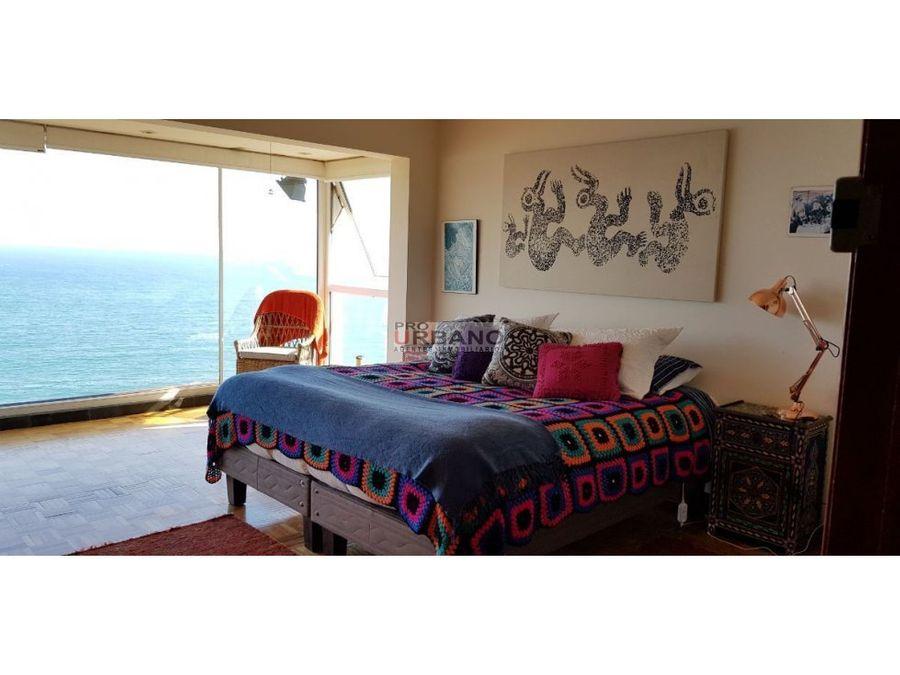 amplia casa con preciosa vista al mar