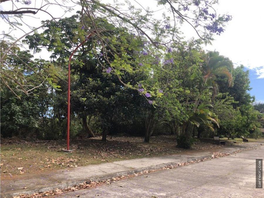 lote en residencial en guayabos curridabat