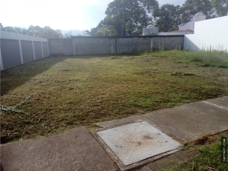 terreno en condominio en sabanilla montes de oca
