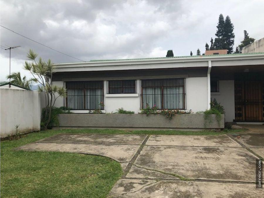 casa de una planta en venta en guayabos curridabat