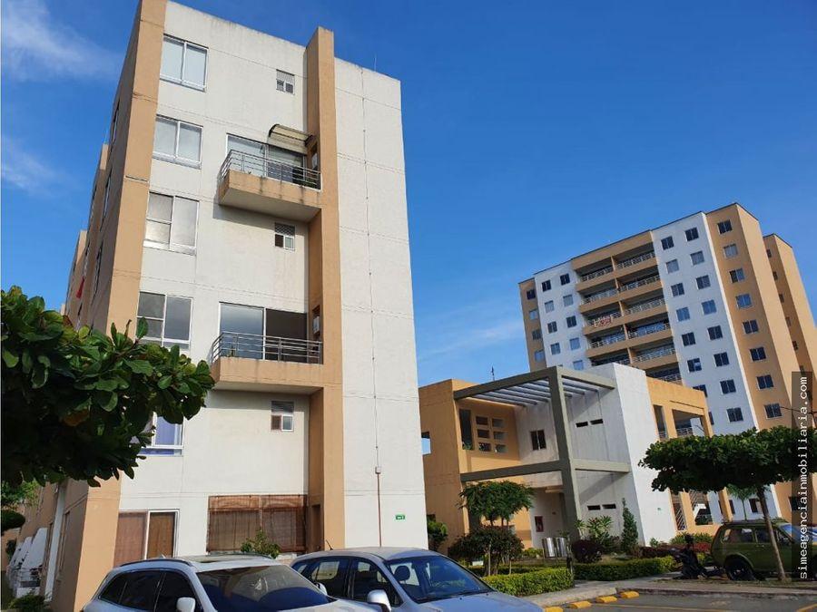 se arrienda apartamento unifamiliar en conjunto natura palmira