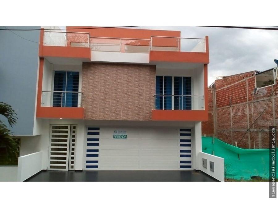 se vende casa unifamiliar en villa campestre tulua