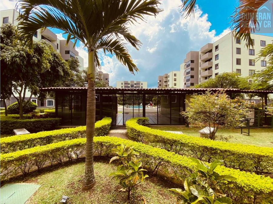 apartamento alquiler paso real unico condominio con piscina temperada