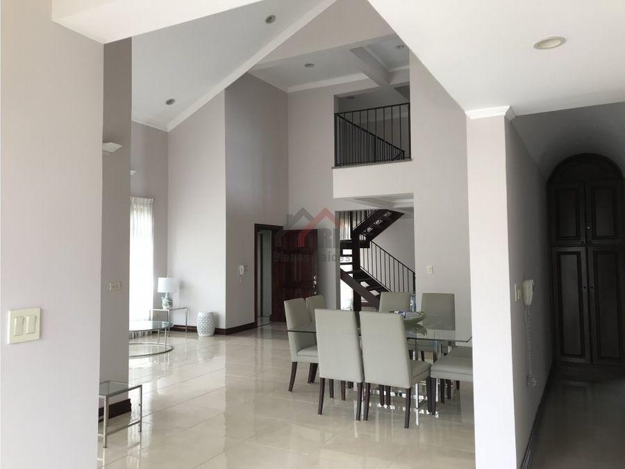 alquiler de apartamento en escazu