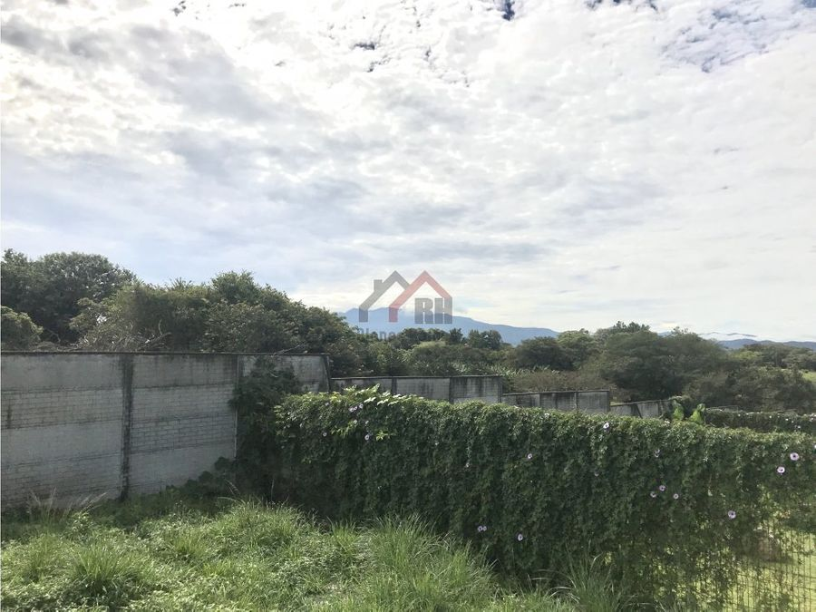 venta de terreno en residencial guacima alajuela