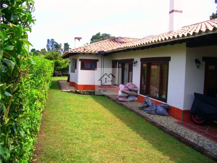 venta de casa en rionegro antioquia gualanday
