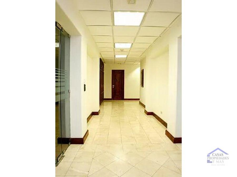 alquiler de oficinas en edificio en sabana norte
