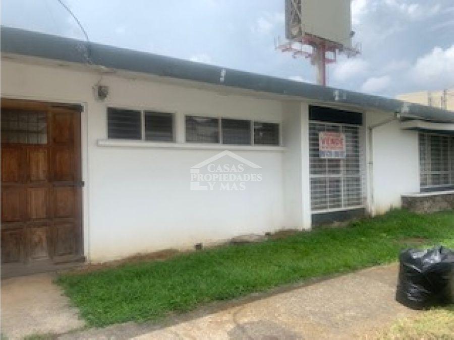 se vende propiedad en sabana oeste zona gastronomica