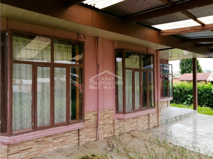 se vende casa ubicada en pejibaye de cartago remate bancario