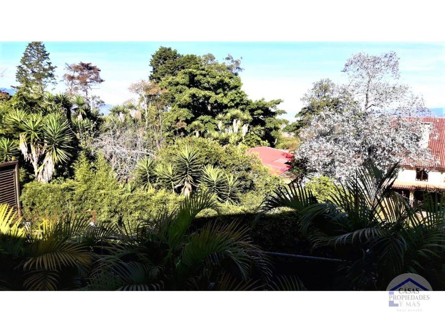 se vende casa con espectaculares vistas en san ramon de tres rios