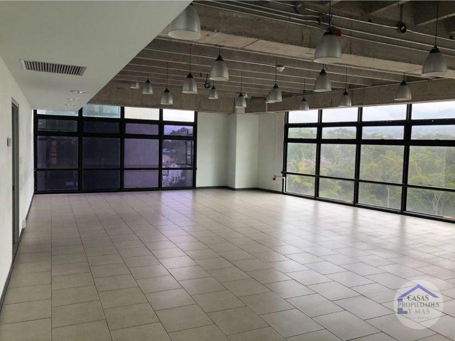 alquiler de oficinas en torre en excelente ubicacion en san pedro