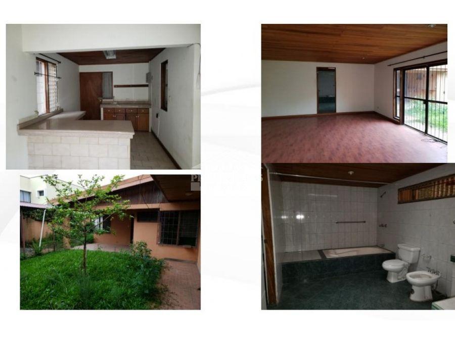 venta casa amplia en pinares de curridabat san jose