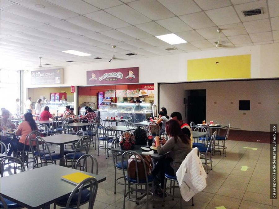 local en food court paseo colon