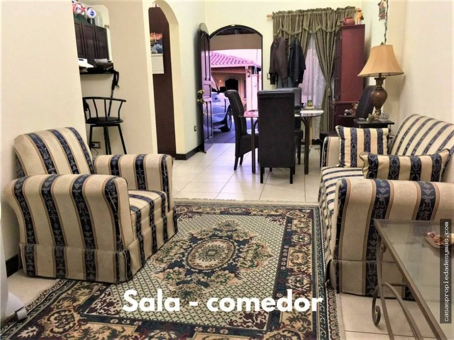 se vende casa en cond san agustin heredia 68 millones