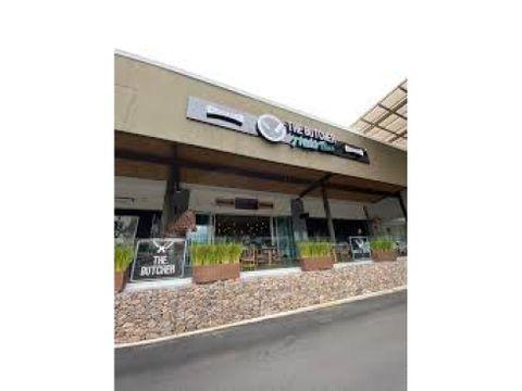local comercial r4 para restaurante momentum escazu 12438 m2