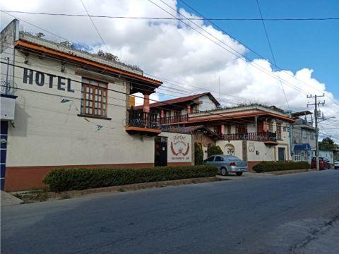 hotel para inversion en san cristobal de las casas