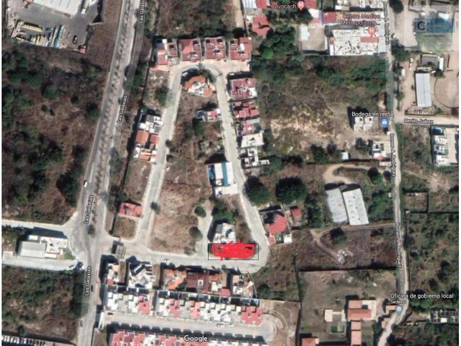 terreno residencial las fuentes