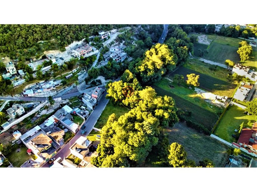 construye tu residencia rodeada de fresnos y rio de agua natural