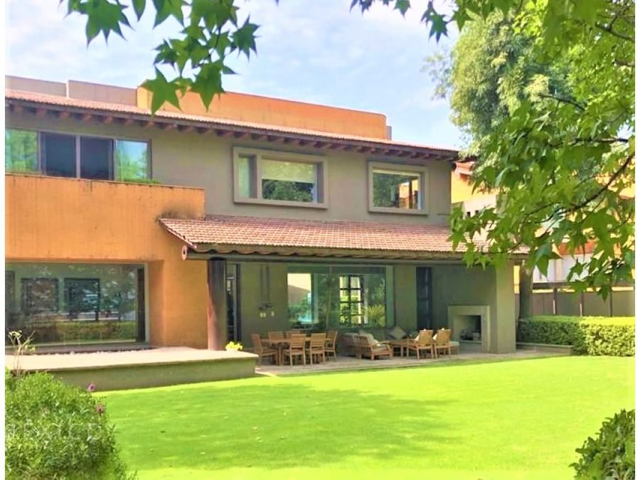 casa en exclusiva privada hacienda santa fe