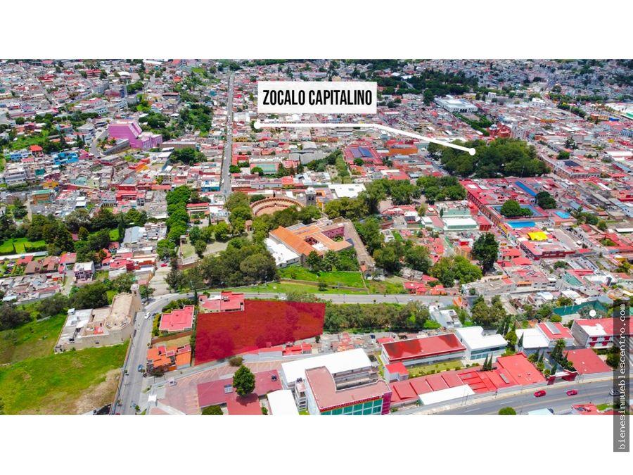terreno en tlaxcala centro negociable 5463 m2