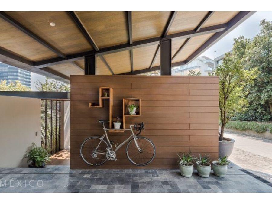 casa contemporanea en bosques de santa fe