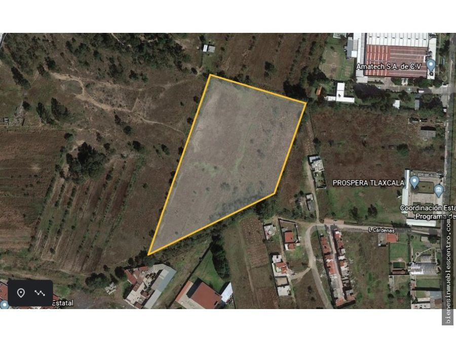 terreno en tlaxcala 2 has para desarrollo a 5 min de tlaxcala centro