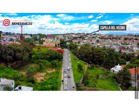 terreno en tlaxcala centro negociable 3971 m2
