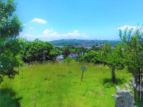 lote con vista panoramica a todo tlaxcala negociable