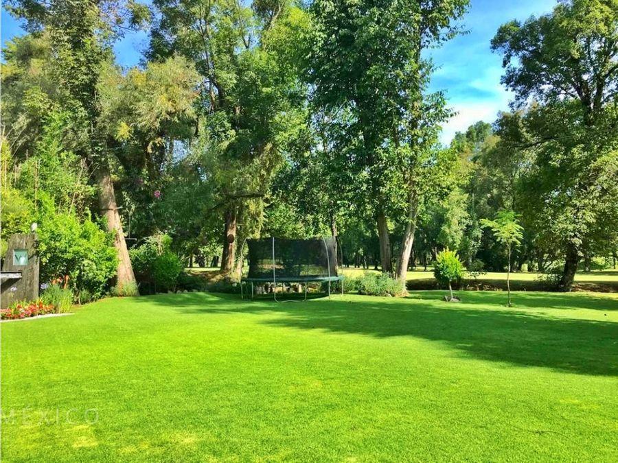 casa en club de golf avandaro