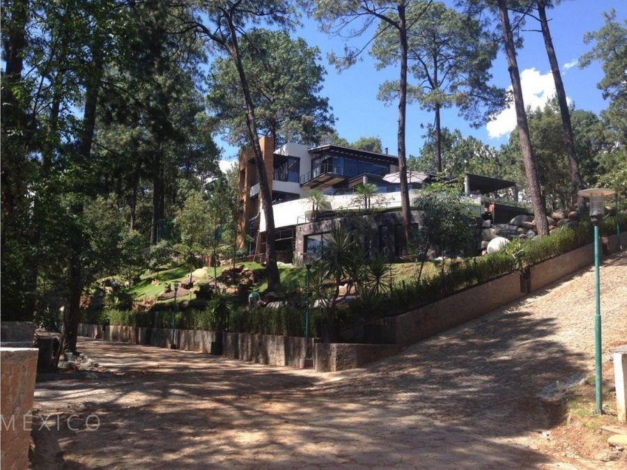 casa en avandaro fraccionamiento vistas del lago