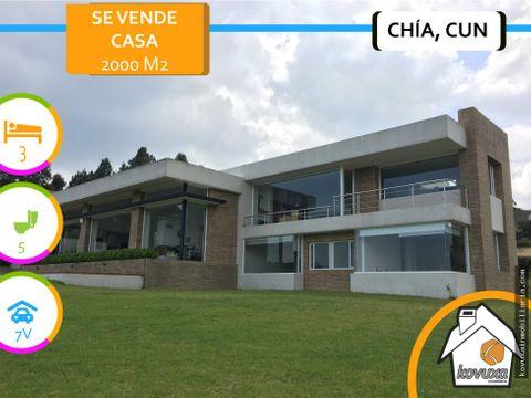 se vende casa yerbabuena chia