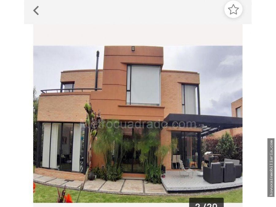 se vende casa en cajica