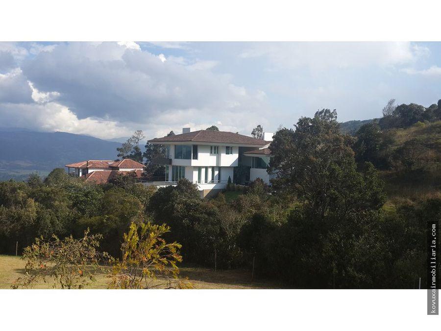 casa en venta en yernabuena chia